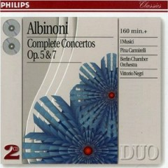 Albinoni - Complete Concertos CD 2 (No. 2) - Vittorio Negri,I Musici