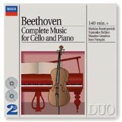 Beethoven - Complete Music For Cello And Piano CD 1 - Mstislav  Rostropovich