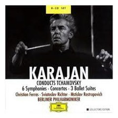 Karajan Conducts Tchaikovsky CD 3 - Herbert von Karajan,Berlin Philharmonic Orchestra,Vienna Radio Symphony Orchestra