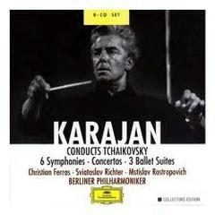 Karajan Conducts Tchaikovsky CD 4 - Herbert von Karajan,Berlin Philharmonic Orchestra,Vienna Radio Symphony Orchestra
