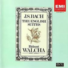 Bach  - The English Suites CD 1 - Helmut Walcha