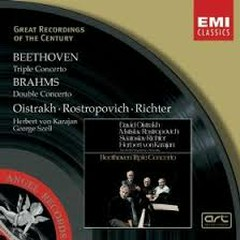 Beethoven - Triple Concerto/ Brahms - Double Concerto - David Oistrakh,Mstislav  Rostropovich,Svjatoslav Richter