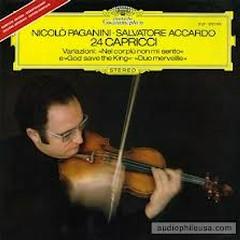 Paganini - 24 Caprices For Solo Violin (No. 2) - Salvatore Accardo