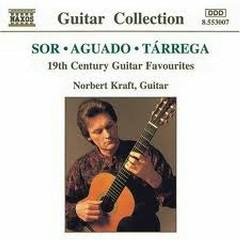 19th Century Guitar Favourites (No. 1) - Norbert Kraft