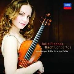 Bach Violin Concertos  - Julia Fischer,Academy Of St Martin InThe Fields