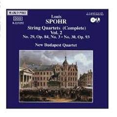 Spohr - String Quartets Vol 2 - New Budapest Quartet