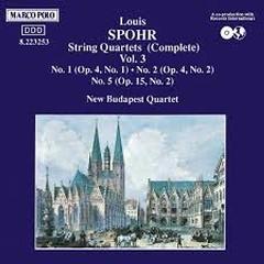 Spohr - String Quartets Vol 3 - New Budapest Quartet