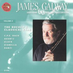 60 Years, 60 Flute Masterpieces Vol. 2 - The Rococo & Classical Eras Disc 2 - James Galway