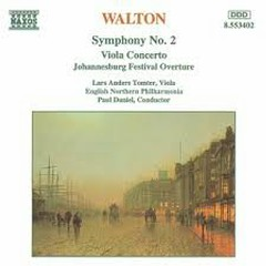 Walton - Symphony No.2; Viola Concerto - Paul Daniel,English Northern Philharmonia