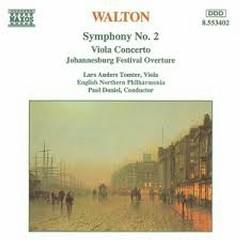 Walton - Symphony No.2; Viola Concerto - Paul Daniel,English Northern Philharmonia