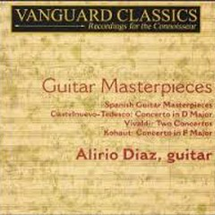 Guitar Masterpieces CD 1 (No. 1) - Alirio Diaz