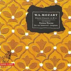 Mozart - Clavier Concerte 20 & 21 - Jos Van Immerseel