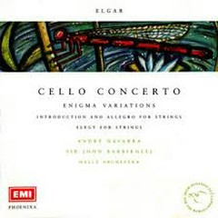 Elgar - Cello Concerto, Enigma Variations CD 1 - André Navarra,Sir John Barbirolli,Hallé Orchestra