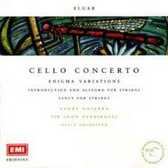 Elgar - Cello Concerto, Enigma Variations CD 2 - Sir John Barbirolli,André Navarra,Hallé Orchestra
