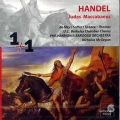Handel - Judas Maccabaeus CD 2 (No. 2) - Nicholas McGegan,Philharmonia Baroque Orchestra