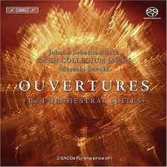 Bach - Overtures;Ouvertures - The 4 Orchestral Suites CD 1 (No. 2) - Masaaki Suzuki,Bach Collegium Japan