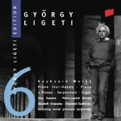 Gyorgy Ligeti Edition, Vol. 6 - Keyboard Works (No. 1) - Pierre-Laurent Aimard,Elisabeth Chojnacka