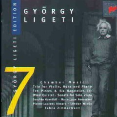 Gyorgy Ligeti Edition, Vol. 7 - Chamber Music Trio For Violin, Horn & Piano (No. 2) - Pierre-Laurent Aimard,Tabea Zimmerman