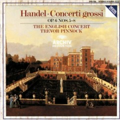 Handel - Concerti Grossi, Op.6, 5 - 8 (No. 2) - Trevor Pinnock