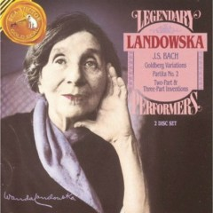 Bach - Goldberg Variations, Partita No. 2 CD 2 (No. 2) - Wanda Landowska