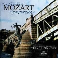 Mozart - The Complete Symphonies CD 8 - Trevor Pinnock,The English Concert