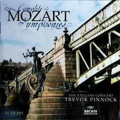 Mozart - The Complete Symphonies CD 9 - Trevor Pinnock,The English Concert