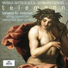 Telemann - String Concertos (No. 1) - Reinhard Goebel,Musica Antiqua Koln