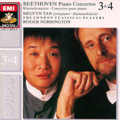 Beethoven Piano Concertos 3 & 4 - Melvyn Tan,Roger Norrington,London Classical Players