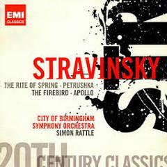 Stravinsky - The Rite Of Spring; Petrushka; The Firebird; Apollo CD 2 (No. 2) - Simon Rattle,City Of Birmingham Symphony Orchestra