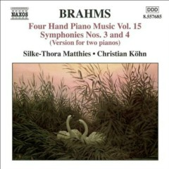 Brahms - Four Hand Piano Music, Vol 15