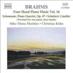 Brahms - Four Hand Piano Music, Vol 16 (No. 1)