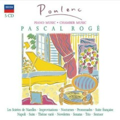 Francis Poulenc - Piano Music, Chamber Music CD 1 (No. 3) - Pascal Roge