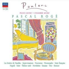 Francis Poulenc - Piano Music, Chamber Music CD 2 (No. 1) - Pascal Roge
