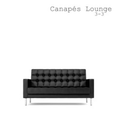Canapes Lounge 3 - 3 (No. 1)