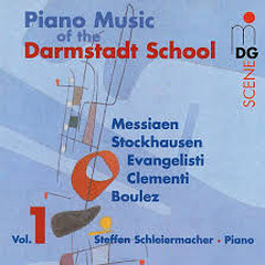 Piano Music Of The Darmstadt School, Vol. 1
