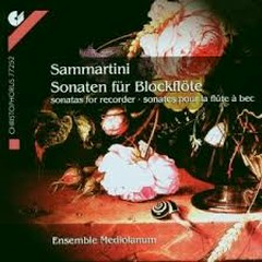 Giuseppe Sammartini - Sonaten Für Blockflöte (No. 1)