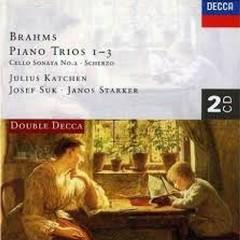Brahms - Complete Piano Trios CD 2 - Josef Suk,Janos Starker,Julius Katchen