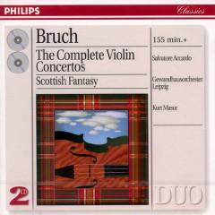 Bruch - The Complete Violin Concertos CD 2 - Salvatore Accardo,Kurt Masur,Leipzig Gewandhaus Orchestra