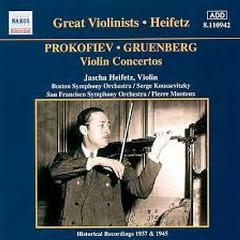 Prokofiev, Gruenberg - Violin Concertos - Jascha Heifetz,Pierre Monteux