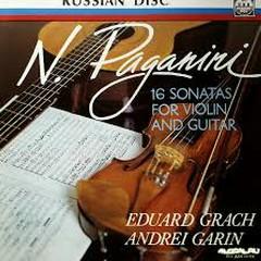 Paganini - 16 Sonatas For Violin And Guitar (No. 2)