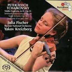 Peter Ilyich Tchaikovsky - Violin Concerto In D, Op. 35 - Yakov Kreizberg,Julia Fischer