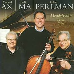 Mendelssohn - Piano Trios - Emanuel Ax,Yo-Yo Ma,Itzhak Perlman
