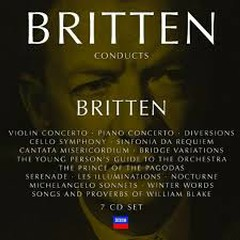 Britten Conducts Britten Disc 3