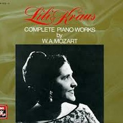 Mozart  - Complete Piano Works CD 3 - Lili kraus