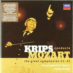 Krips Conducts Mozart - The Great Symphonies 21 - 41 CD 4