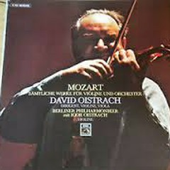 Mozart - Samtliche Werke Fur Violine Und Orchester CD 2 - David Oistrach