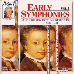 Mozart - Early Symphonies, Vol. 1 (No. 1) - Hans Graf,Salzburg Mozarteum Orchestra