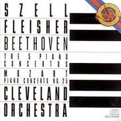 Beethoven - The 5 Piano Concertos; Mozart - Concerto No. 25 CD 3