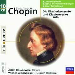 Chopin - Die Klavierkonzerte Und Klavierwerke Solo CD 8 (No. 1)   - Adam Harasiewicz