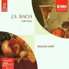 Bach - Celo Suites CD 1
